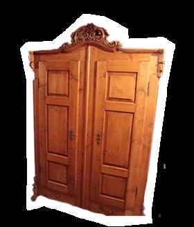 Holzgut sch ne m bel und ein wenig kunst - Antike kuchenmobel ...